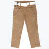 Boys Cotton Pant - Light Brown