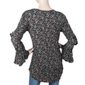Women's Full Sleeves Western Top - Black