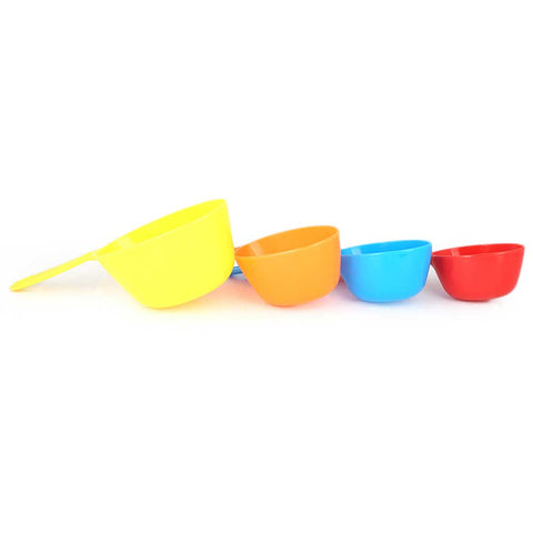 Measuring Spoons And Cups 4 Pcs - Multi