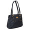 Women's Handbag H-58 - Navy Blue