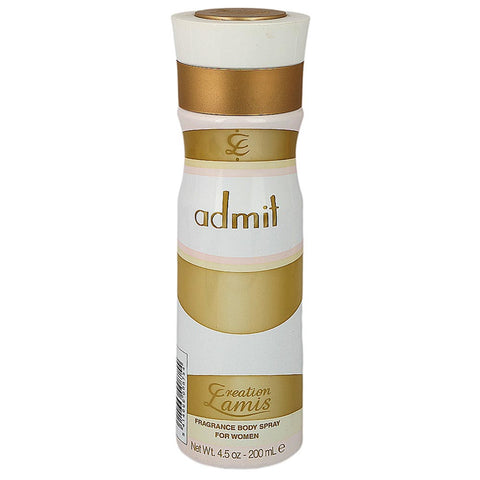 Creation Lamis Body Spray For Her 200ml - Admit