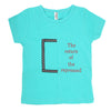 Boys Round Neck T-Shirt - Sea Green