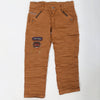 Boys Cotton Pant - Brown