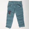 Boys Cotton Pant - Steel Blue