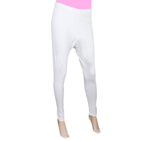 Women's Plain Tights - White