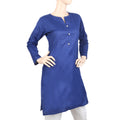 Women's Kurti-WQB-5013-C - Royal Blue