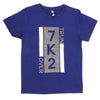 Boys Round Neck T-Shirt - Royal Blue
