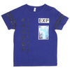 Boys Round Neck T-Shirt - Navy Blue