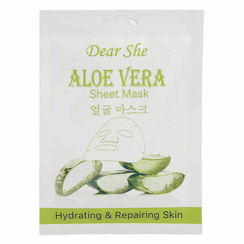 Dear She Aloe Vera Sheet Mask - 25g