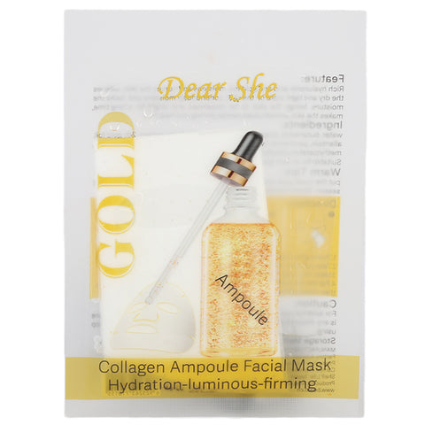 Dear She Gold Ampoule Mask - 25g