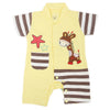 Newborn Unisex Half Sleeves Rompers 2010 - Yellow