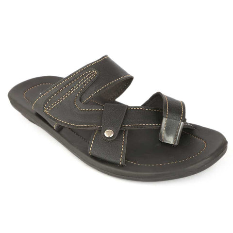 Men's Slippers (025) - Black