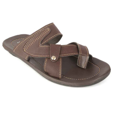 Men's Slippers (025) - Brown