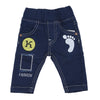 Newborn Boys Denim Pant - Dark Blue