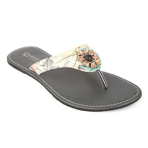 Women's Slipper (KL-031) - Grey - test-store-for-chase-value