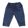 Newborn Girls Denim Pant - Blue