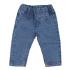 Newborn Girls Denim Pant - Light Blue