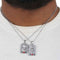 Men's Fancy Chain With Locket - Silver