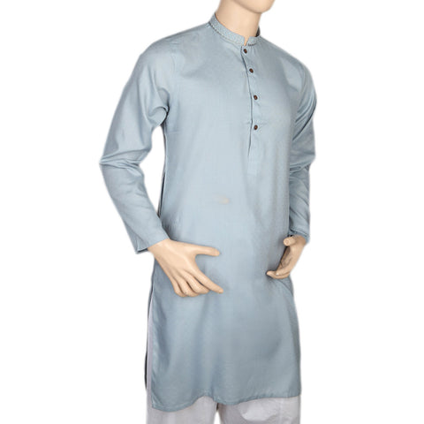 Mashriq EMB Kurta For Men - Blue