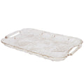 Crystal Serving Tray - Light Brown