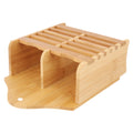 Bamboo Pen & Spoon Holder - Camel