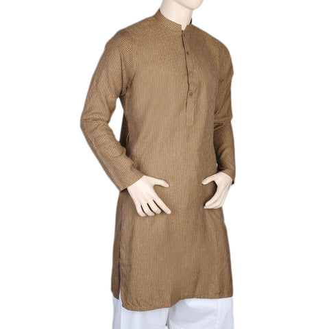 Mashriq Kurta For Men - Brown