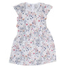 Girls Cotton Frock - Navy Blue