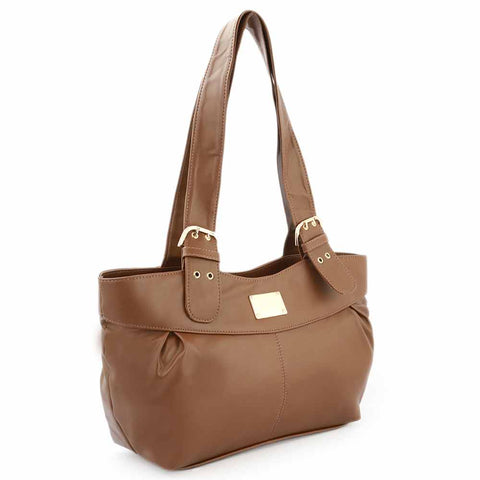 Women's Shoulder Bag (K-1119) - Brown