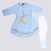 Girls Full Sleeves Suit - Blue