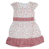 Girls Cotton Frock - Light Purple