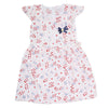 Girls Cotton Frock - Light Pink