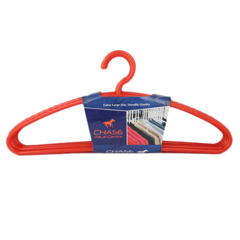Cloth Hanger 6 Pcs - Red
