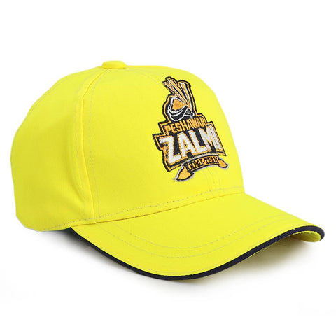 Kids Peshawar Zalmi Cap - Yellow