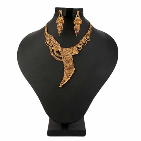 Women's Fancy Jewellery Set - Copper