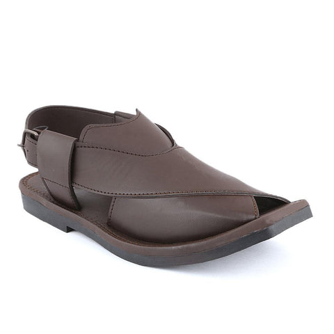 Men's Peshawari Sandals (1132) -  Brown - test-store-for-chase-value