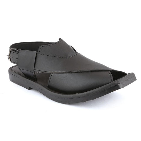 Men's Peshawari Sandals (1132) -  Black - test-store-for-chase-value