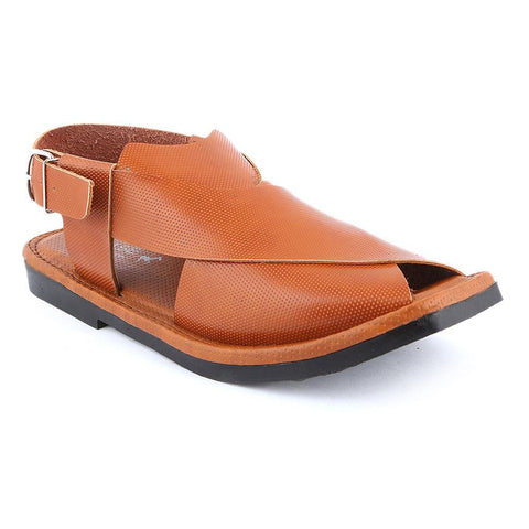 Men's Peshawari Sandals (P001) - Mustard - test-store-for-chase-value