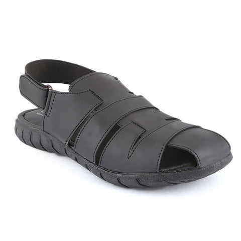 Men's Roman Sandals (5502) - Black - test-store-for-chase-value