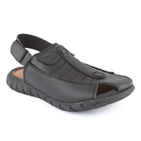 Men's Sandals (3304) -  Black - test-store-for-chase-value