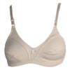 Women's Cotton Bra (B13217) - Skin