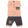 Boys Sando Suit 1308 - Peach