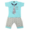 Boys Half Sleeves Suit 1828 - Blue