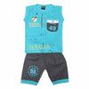 Boys Sando Suit 1308 - Blue