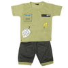 Boys Half Sleeves Suit 1305 - Green