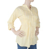 Women's Western Top With Front Pentax - Yellow