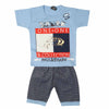 Boys Half Sleeves Suit 1311 - Blue