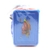 Water Bottle 600 ML with Lunch Box - Blue