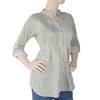 Women's Western Top With Front Pentax - Fawn