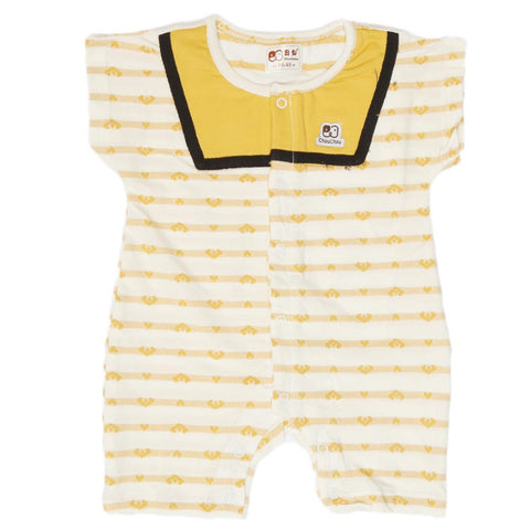 Newborn Unisex Romper - Yellow