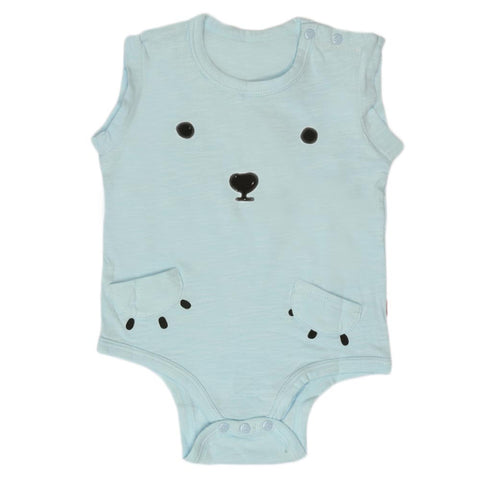 Newborn Unisex Romper - Light Blue